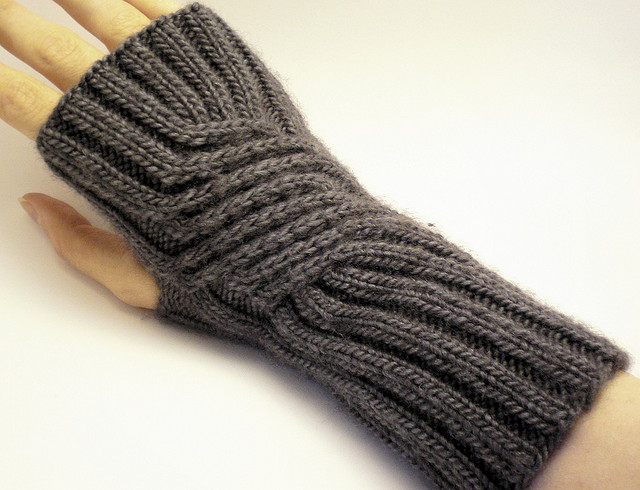 fingerless Gloves And Knit Mittens